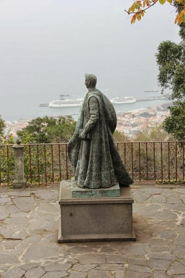 la iglesia de Nuestra señora de Monte de Funchal