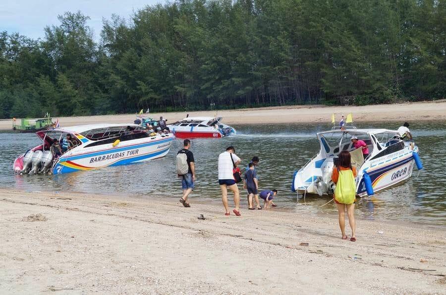 barcos Excursión a Hong Islands desde Ao Nang