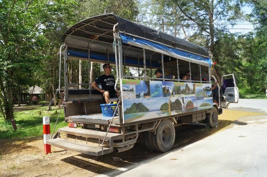 camion excursiones ao nang
