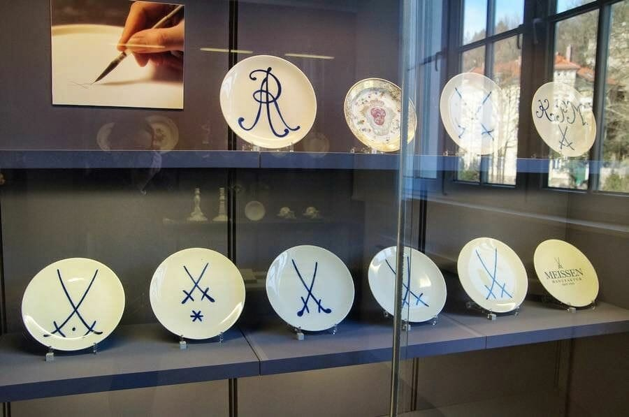 fábrica de Porcelana de Meissen.