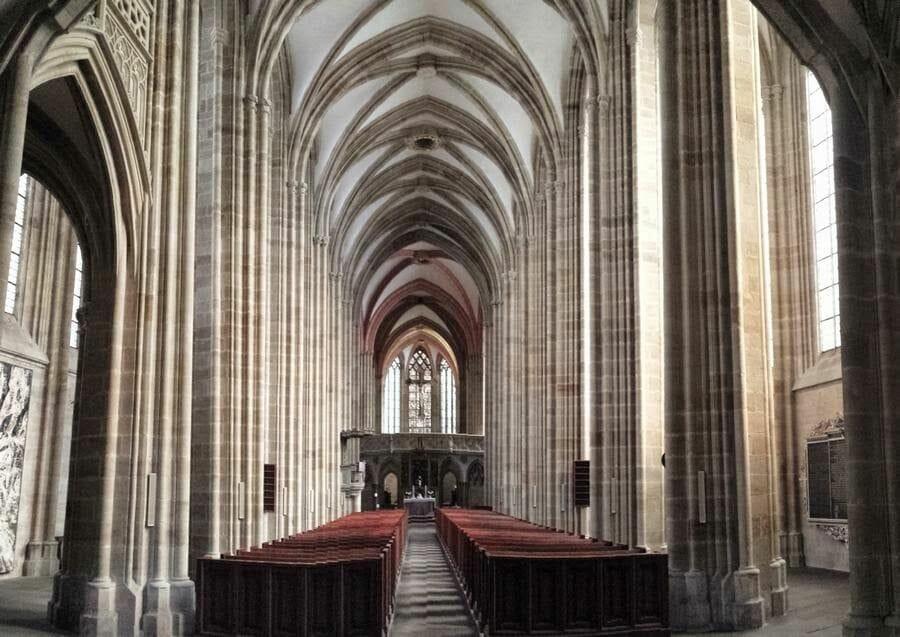 Catedral de Meissen nave principal