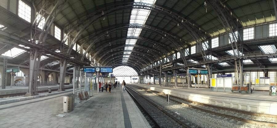 estacion tren dresde vias
