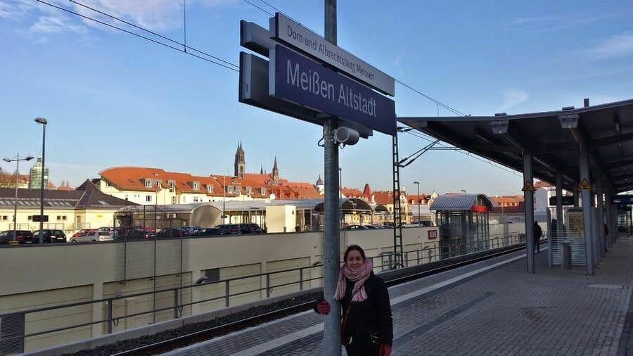 estacion tren meissen