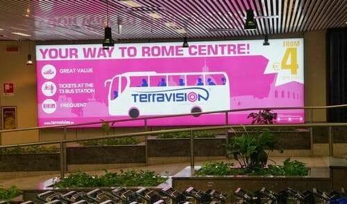 Traslado aeropuerto Fiumicino a Roma