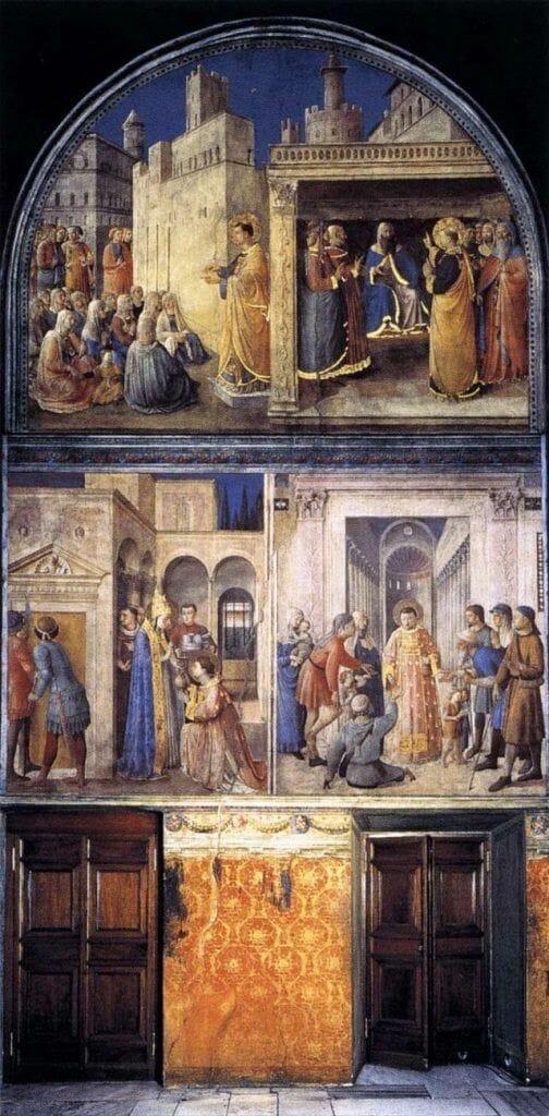 Capilla de Nicolás V museos vaticanos