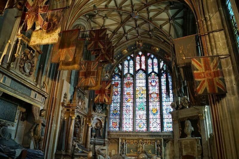vidrieras catedral canterbury