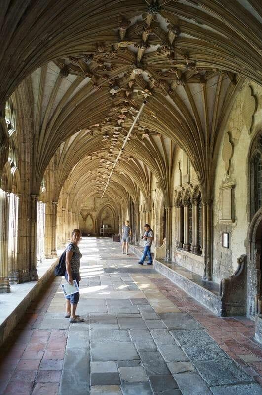claustro catedral canterbury