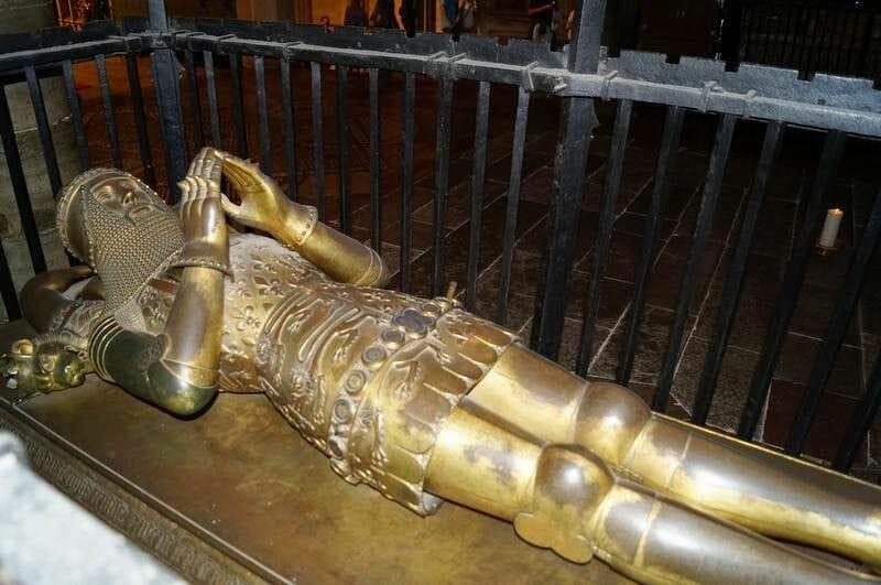 tumba principe negro Catedral de Canterbury
