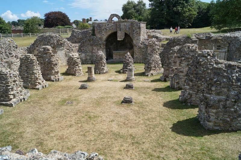 ruinas de la abadía de San Agustín