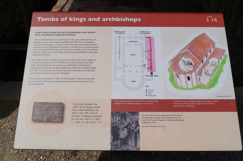 tombs of kings and archbishops saint augustine