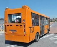 bus largo della pace a estacion civitavecchia