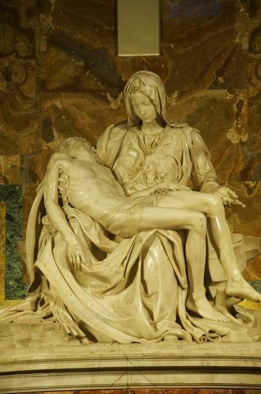 La Pietá de la Basílica de San Pedro