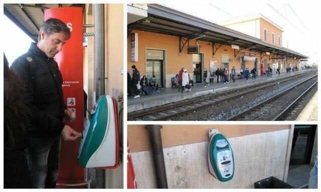 estación tren civitavecchia