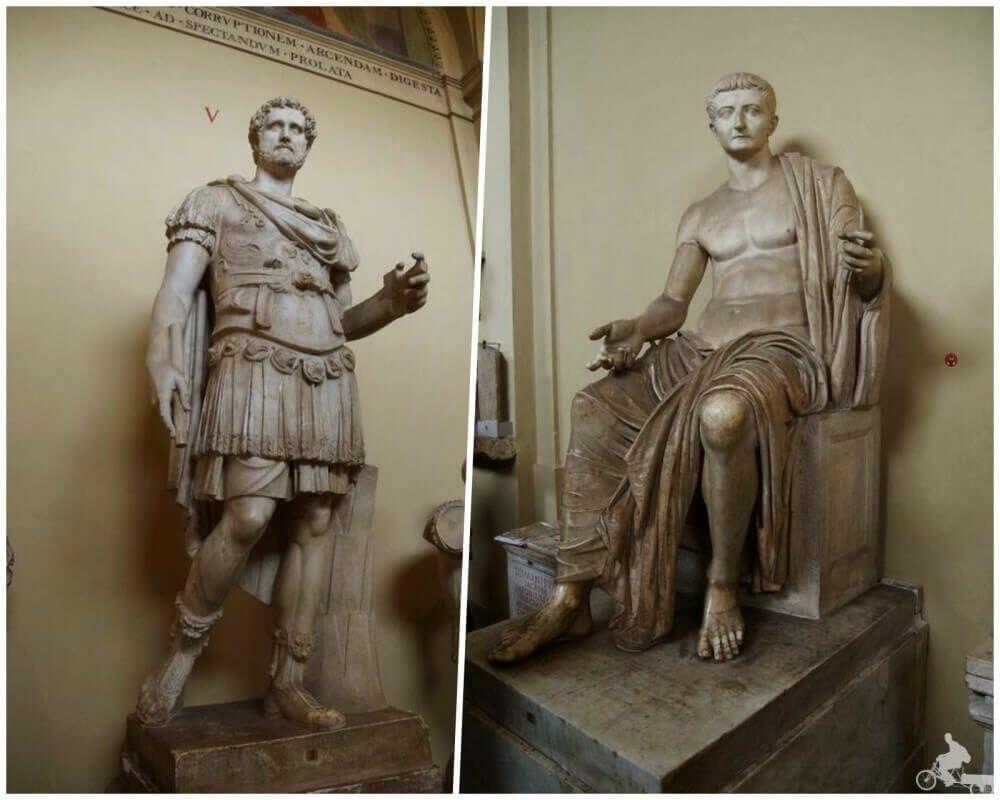 esculturas romanas museos vaticanos