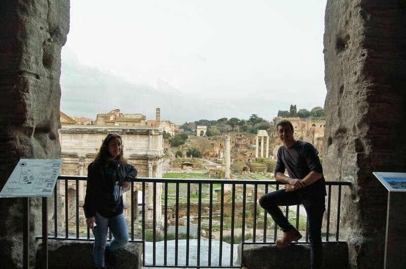 foro romano desde museos capitolinos
