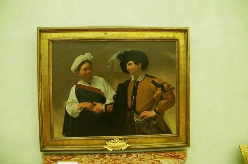 La buenaventura de Caravaggio - museos Capitolinos