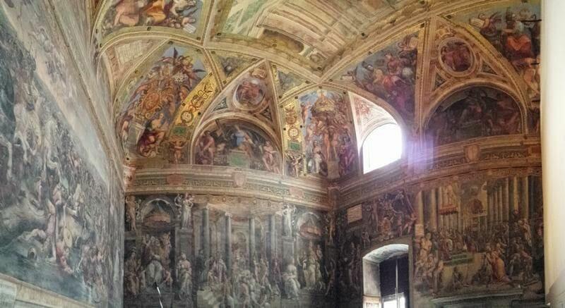 Estancias de Rafael museos vaticanos