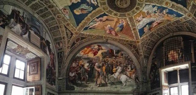 museos vaticanos Estancias de Rafael