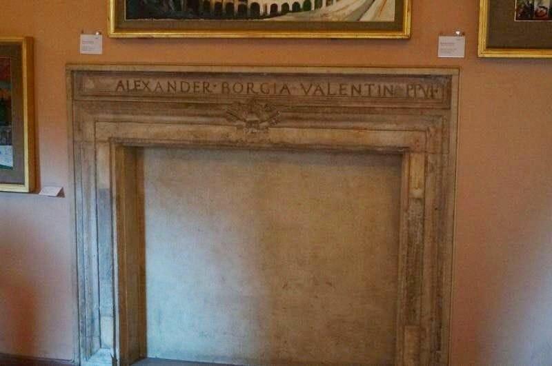 Estancia de los Borgia museos vaticanos
