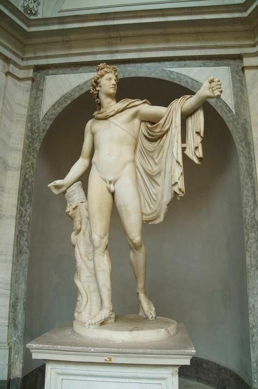 Apollo Belvedere museos vaticanos