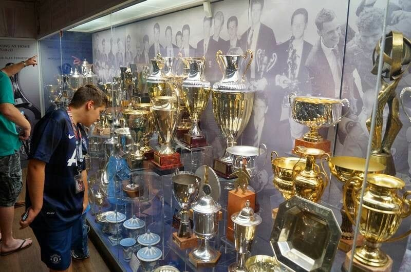 trofeos museo Manchester United