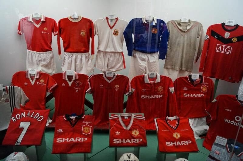 equipaciones museo Manchester United