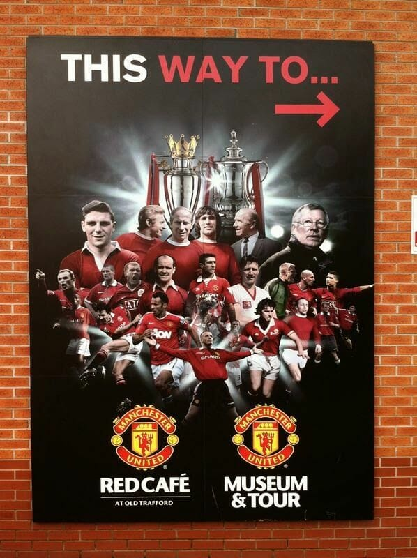 Old trafford Museum & Tour