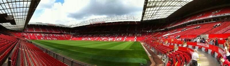 estadio Manchester United.