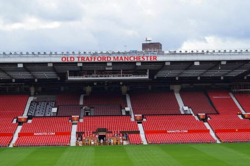 visita estadio Manchester United.