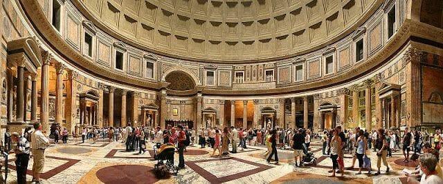 interior del Panteón de Roma