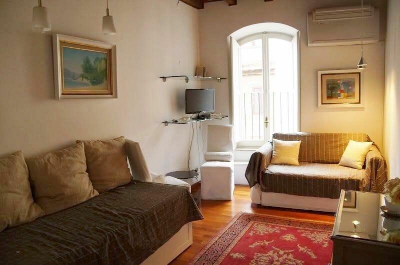 apartamentos en roma, alojamiento en Roma, apartamento paradiso