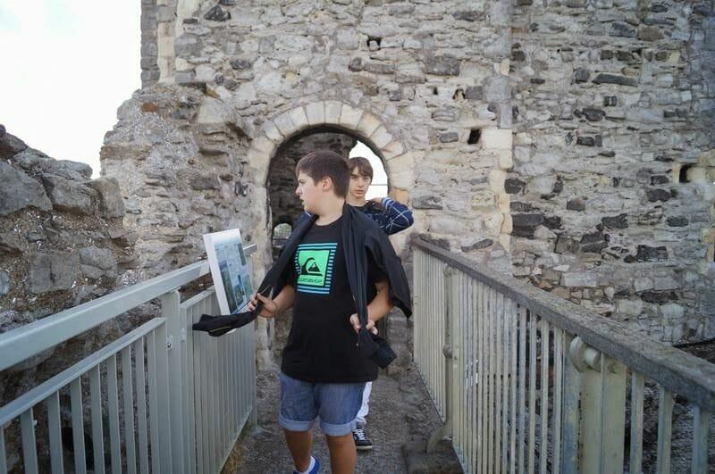 mi baul de blogs en el castillo de rochester