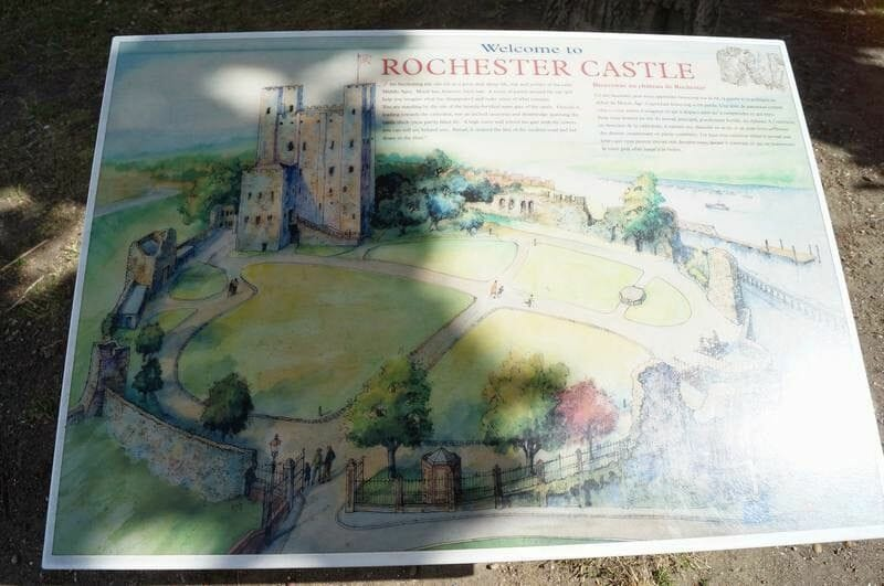 welcome to rochester castle