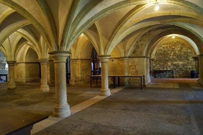 Cripta normanda de la catedral de Rochester