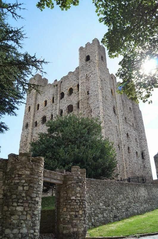 torre de Rochester -fortaleza Normanda