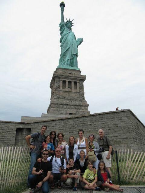 Estatua libertad Liberty island