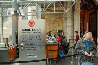 MUSEOS VATICANOS audioguía