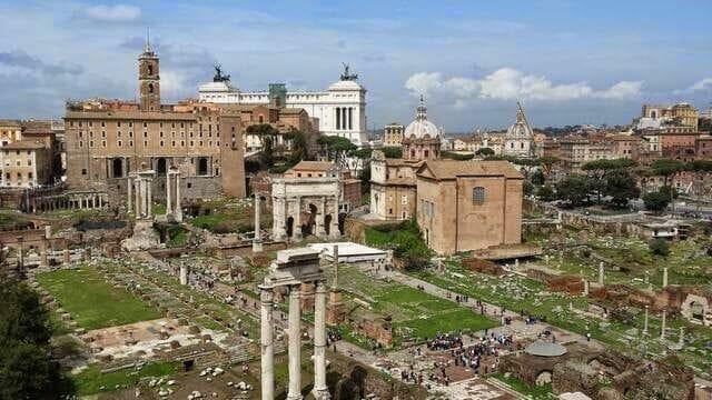 foro romano, ruinas de Roma, ruinas del foro