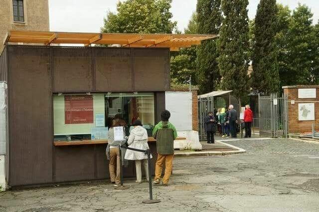 Entrada 2 al Foro Romano-Palatino Roma