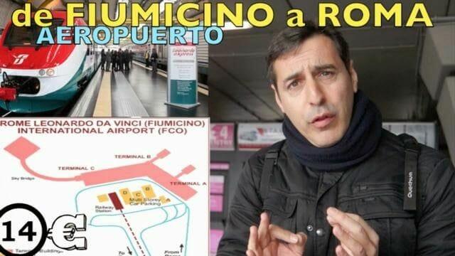 aeropuert roma, fiumicino, ciampino, ir al centro de Roma