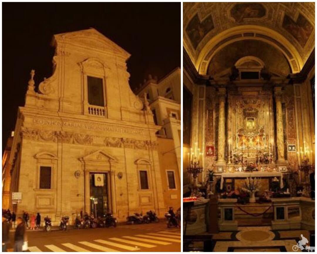 iglesia de santa maria del pozo roma
