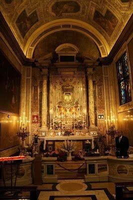 Iglesia de nuestra señora del pozo, madonna pozzo roma
