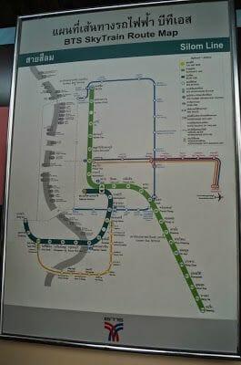 lineas skytrain bangkok