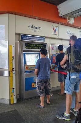 billetes de transporte en Bangkok