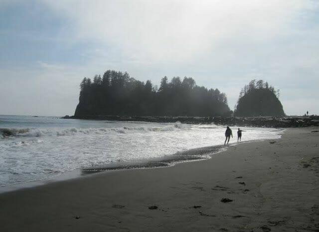 playa de la push, playas de forks, playas indios quileutes