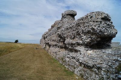 muro RICHBOROUGH ROMAN FORT