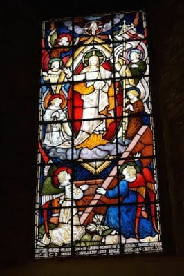 vidrieras Capilla normanda de St. Mary dover