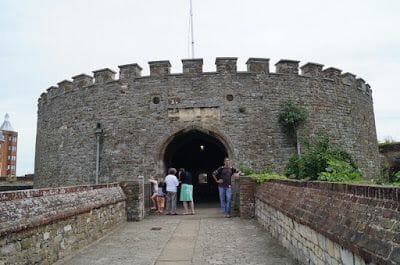entrada castillo de Deal