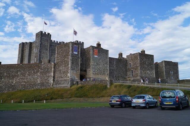 castillo de Dover parking