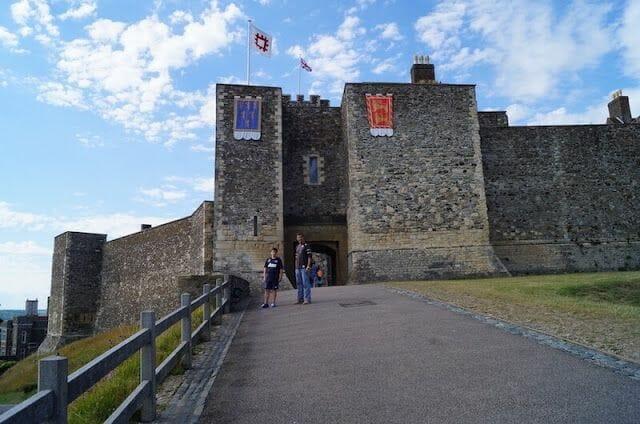 castillo de Dover entrada